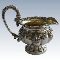 1850ies French Silver Plate Milk Jug
