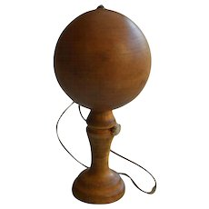 Early 19th C French Rosewood Bilboquet (Cup and Ball) Toy