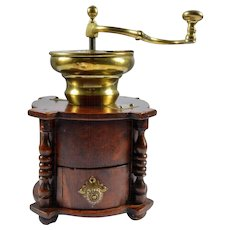 19th Century Antique Italian (Tuscan) Coffee Grinder