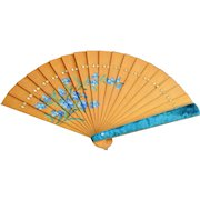 Hand Painted Japonerie Vintage Fan