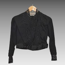 Victorian Black Ladies' Jacket