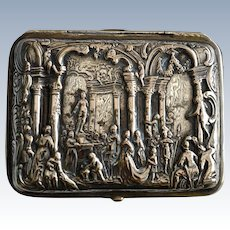 Hanau Silver Trinket Box by Georg Roth & Co, 1891