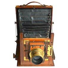 Antique Portable Photo Camera, Ferris & Co, Bristol 1860ies