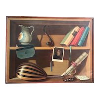 French Trompe L'oeil Painting, Frederic Chopin Musical Theme