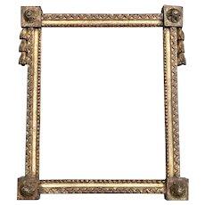 Antique British Neoclassical William Kent Painting Frame.