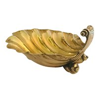 Antique George III Silver Scallop Shell Butter Dish, 1790