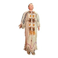 Native American Indian Doll with Wedding Dress