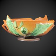 Roseville Thornapple Bowl 309-8 Circa 1937