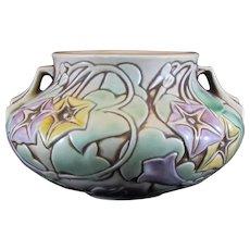 Roseville Morning Glory Art Pottery Vase/Bowl 268-4