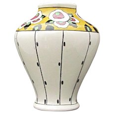 Boch Freres Belgium Art Nouveau Vase