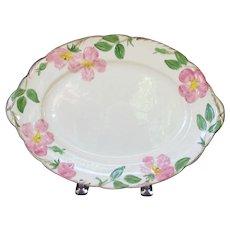 """Franciscan Desert Rose 14 1/2"""" platter"""