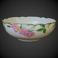 "Franciscan Desert Rose 10"" Salad Bowl"