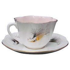 Shelley Paradise Hazelnut Cup and Saucer