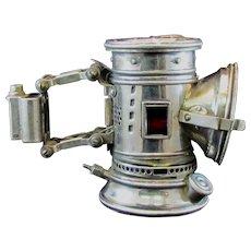 Bridgeport Brass Search Light Antique Bicycle Lamp