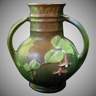 Roseville Fushia Vase 891-6 Circa 1938