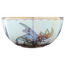 Very Scarce Wedgwood Fairyland Lustre Butterfly Bowl Designed by Daisy Makeig-Jones C1910 #Z4832