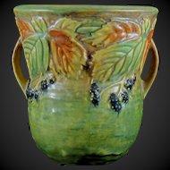 1933 Roseville Blackberry 573-6 Vase