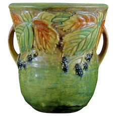 1933 Roseville Blackberry 573-6 Vase