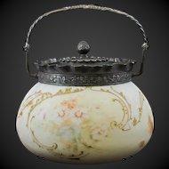 Mt. Washington Crown Milano Cracker Jar