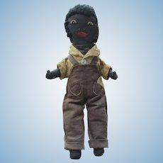 Antique Black Male Rag Doll