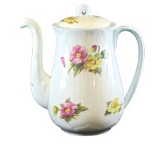 Shelley Dainty Shape Begonia Demitasse Coffee Pot 13427