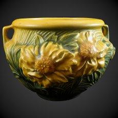 Roseville Pottery Peony Jardinière 661-5