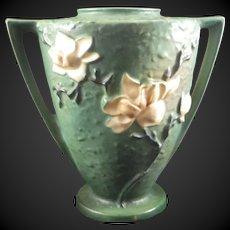 Roseville Pottery 94-9 Magnolia Green Vase