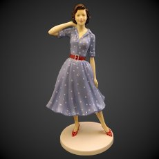 Royal Doulton Fashion Through The Decades 1950's Nancy