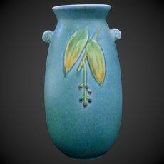 Weller Pottery Cornish Blue Vase