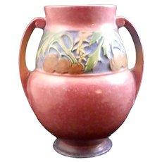 Roseville Pottery Pink Baneda Vase 596-9