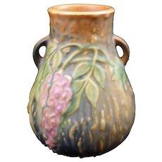 Roseville Wisteria Vase 631-6 with Foil Label