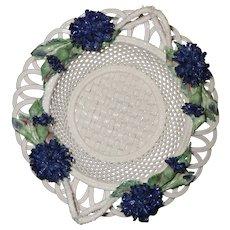 Celtic Weave Irish Parian Bone China Woven Basket