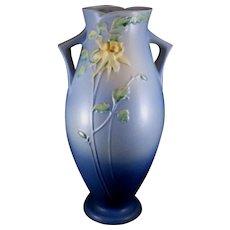 Roseville Pottery Columbine Floor Vase 27-16