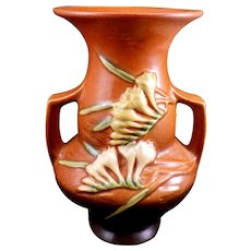 Roseville Pottery Freesia Vase 122-8