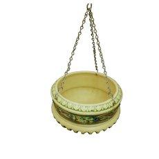 Roseville Pottery Corinthian Hanging Basket 336-8