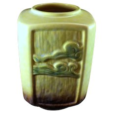 Roseville Pottery #274-7 Wincraft Vase Yellow Green