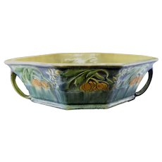 Roseville Pottery Baneda Green Console Bowl 234-10