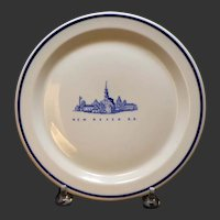 "New Haven Railroad (NYNH&H) ""Old Saybrook"" Plate"