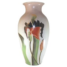 1905 Roseville Rozane Ware Iris Vase Reproduction from the1930's Japan