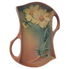 Roseville Pottery Peony Tray 435-10
