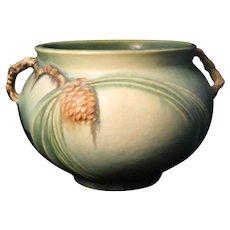 Roseville Green Pinecone 632-4 Vase