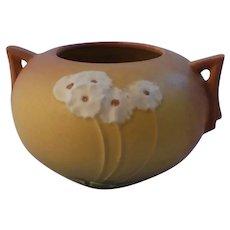 Roseville Pottery Primrose Handled Vase 284-4