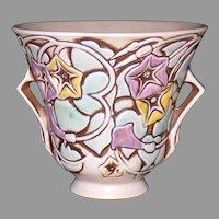 Roseville Pottery Morning Glory Vase Green 723-5