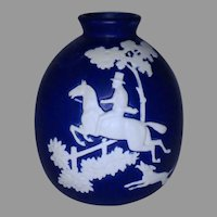 Weller Pottery Chase Pattern Bulbous Vase
