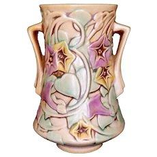 Roseville Pottery Morning Glory Vase White 723-5