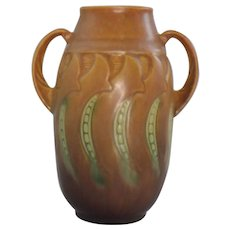 1933 Roseville Falline Vase 643-6