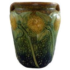 Roseville Sunflower Vase 514-6