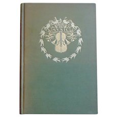 1904 Antique Poetry - Music and Other Poems