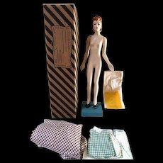 Vintage Latexture Designer Fashion Doll Miniature Mannequin Teach Sewing WWII