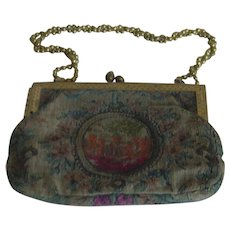 Late 19th century German Petit Point Purse